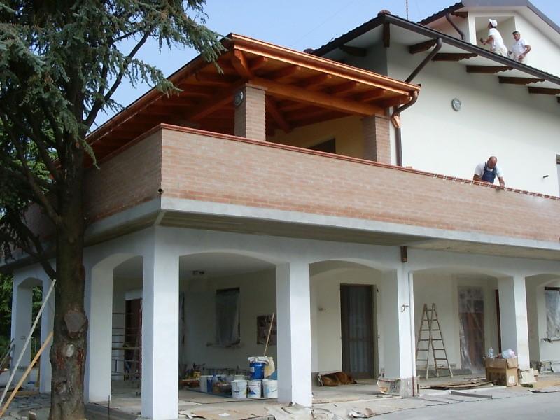 Ampliamento di un fabbricato civile arch luca parmeggiani casa montanini - Ampliamento casa ...